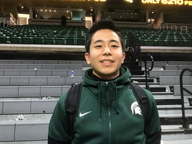 Masato Nakamura is a 23-year-old University of Chicago student who has long admired Tom Izzo's style of coaching and hopes to imitate it some day in Japan.