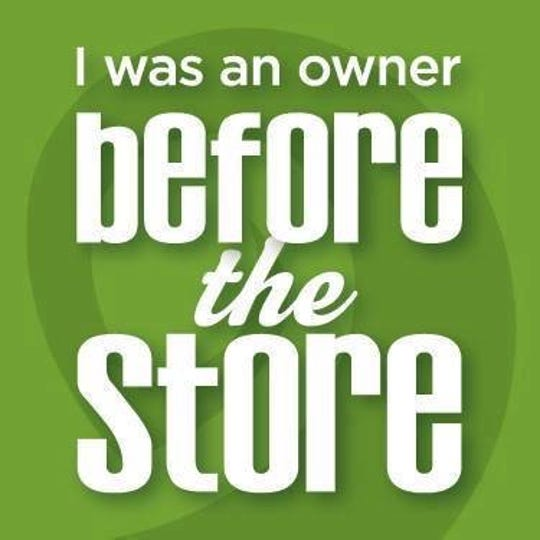 Clipper City Co-op: 'I was an owner before the store' graphic.