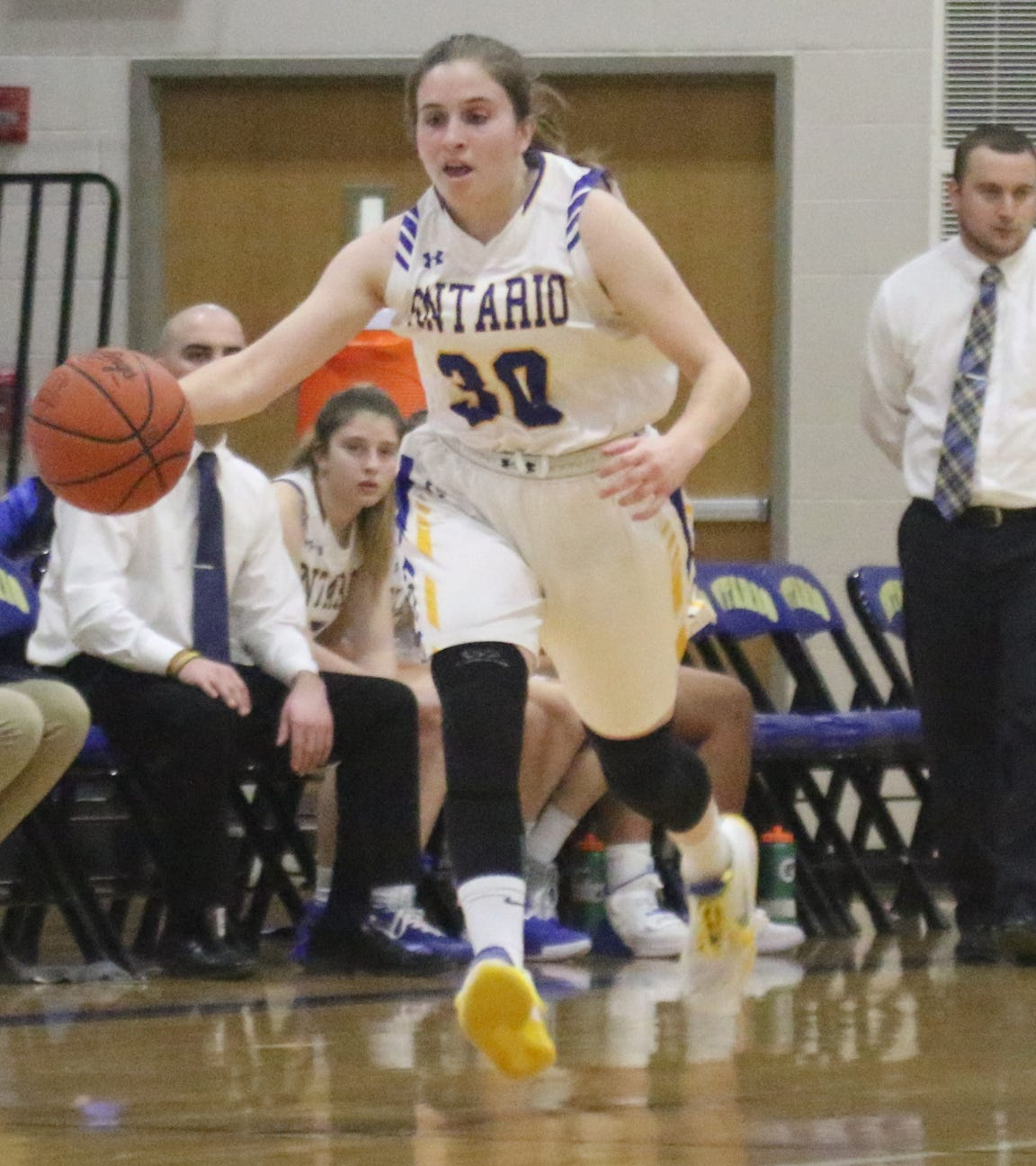Ontario senior Ashten Vavra has overcome everything thrown her way all for the love of basketball.