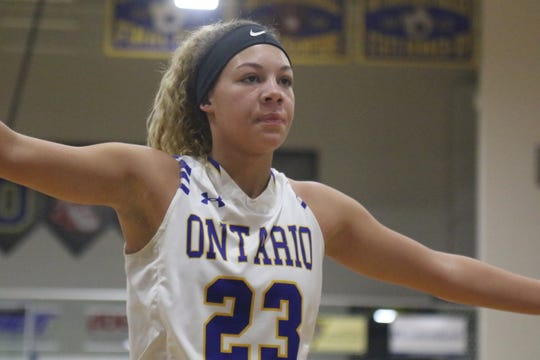 Ontario's Carleigh Pearson has the Lady Warriors looking toward a big week full of important games.