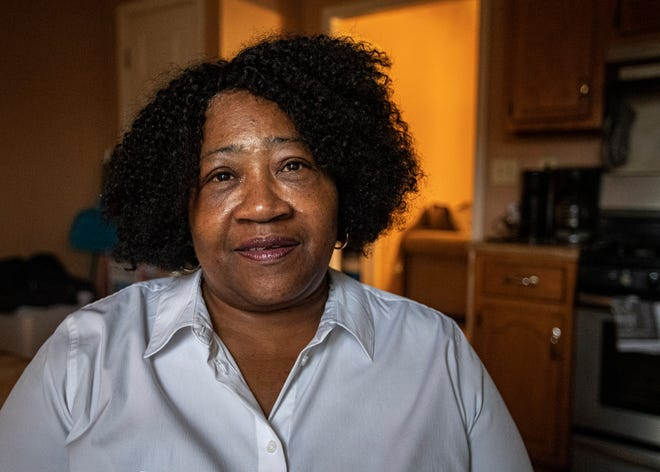 Hester Jackson-McCray, representative-elect for District 40 of the Mississippi House of Representatives, sits in her home Jan. 3, 2020.