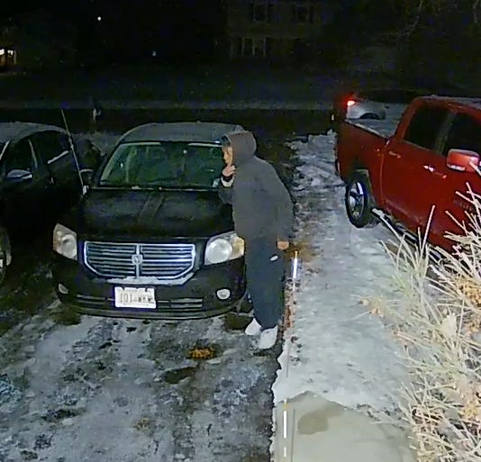 The Menomonee Falls Police Department is asking community members to register their video surveillance cameras to help the village identify criminal activity. Because a homeowner submitted a video, pictured, of a suspect trying to steal a car, it may help police identify the suspect who may have been involved in a car theft on New Year's Day.