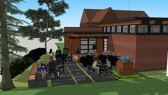 The new location of Draft and Vessel will include a back garden and could include space for food trucks in the future as well.