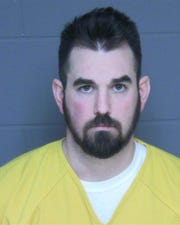 Tyler Allen, 28, is accused of taking photos up a woman's dress at an Oconomowoc Starbucks