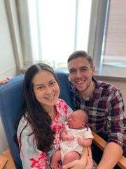 Baby Henry was born at 7:58 a.m. on New Year's Day 2020 at Morristown Medical Center, to parents Kelly O'Rourke and Nicholas Oakley.