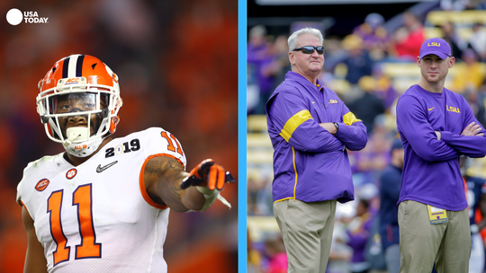 National Championship matchups to watch: LSU offensive staff vs. Clemson's Isaiah Simmons