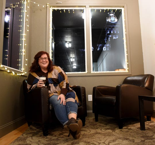 Kelley Beckett, of Freedom Counseling, Coaching, and Consulting in Newark, meets with her clients in a variety of places. From their homes, churches and local coffee shops she helps clients.