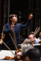 Xian Zhang conducts New Jersey Symphony Orchestra