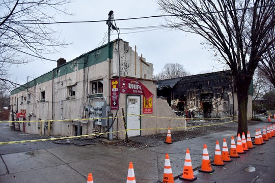 Aftermath of a fire on South Main St in Lodi, N.J. on Friday Jan. 3, 2020.