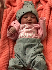 Brooklyn Mahogany Monae Shepard is the first baby born  of 2020 in Las Cruces. She was born at Mountain View Regional Medical Center at 12:06 a.m.