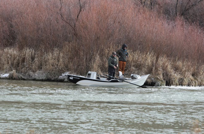 Texas Hole is a popular fishing destination on the San Juan River.