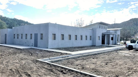 The new shelter of the Humane Society of Lincoln County is in the home stretch of construction.
