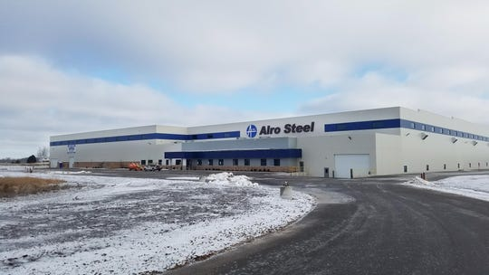 Alro Steel plans to move to a 200,000 square foot space at 3970 Poberezny Road and will expand operations.