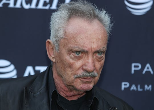 Udo Kier is photographed at the Variety 10 Directors to Watch event at The Parker in Palm Springs, January 3, 2020.