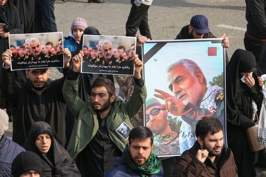 La muerte del general iraní Qasem Soleimani ha desatado la indignación en oriente medio.