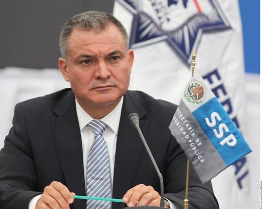 Genaro García Luna, ex secretario de seguridad en México.