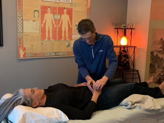 DeVitis owns the Golden Dragon Acupuncture clinic in Chambersburg, where he practices the ancient form of alternative medicine that he learned 20 years ago. He has a variety of patients that come to be treated for a number of ailments.