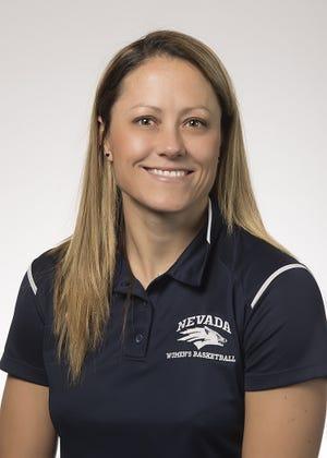 Nevada coach Amanda Levens