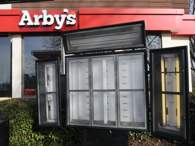 This Arby's was in Redding, California.