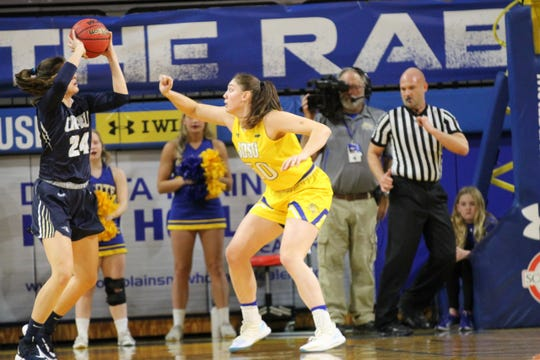 Megan Bultsma is enjoying a larger role off the bench for SDSU