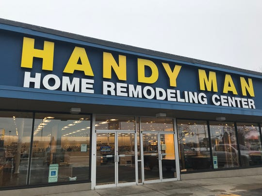 Lights are on and the doors are open at Handy Man Home Remodeling Center 910 E. 10th St. The store is planning a grand opening event for Jan. 18, with deals for customers as part of a scratch-and-dent sale.