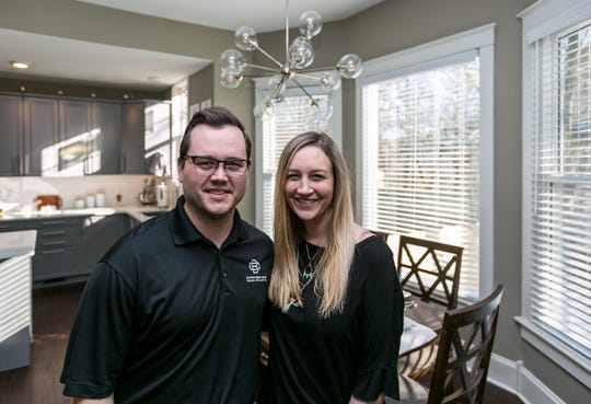 Dylan and Ally Chorice spent the better part of two years transforming a historic house into their home.