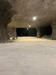 The one-mile bike race course will be half paved and half gravel inside Springfield Underground mine.