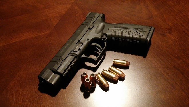 An anonymous tip lead police to a Rider High School student that had a semi-automatic pistol in his waistband.
