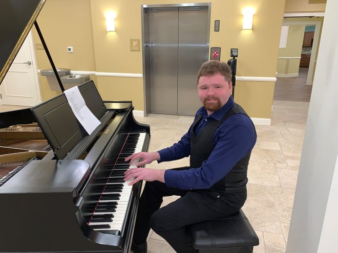 Matthew Cravener, 25, was selected as the Florida Young Soloist of the Year by Arts4All Florida and has released his own albums.