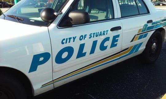 Stuart police car
