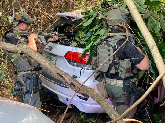 The SWAT team was called to a standoff situation in the area of 21st Street west of U.S. 1 Jan. 3, 2020.