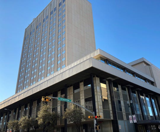The 21-story One Jacinto Plaza building is one of several Downtown El Paso properties purchased by El Paso billionaire Paul Foster.