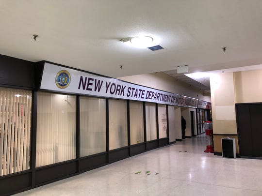 The state Department of Motor Vehicles office in in the White Plains Mall reopened Dec. 30, 2019. It had closed for four days after pipes burst in the mall. The department is seen Friday, Jan. 3, 2020.