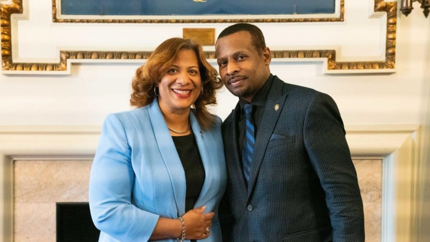 Mount Vernon Mayor Shawyn patterson-Howard makes her first ...