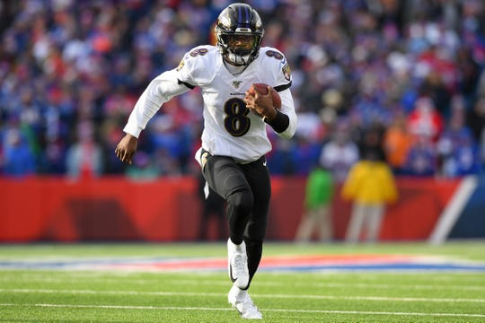 QUARTERBACK — Lamar Jackson, Baltimore Ravens