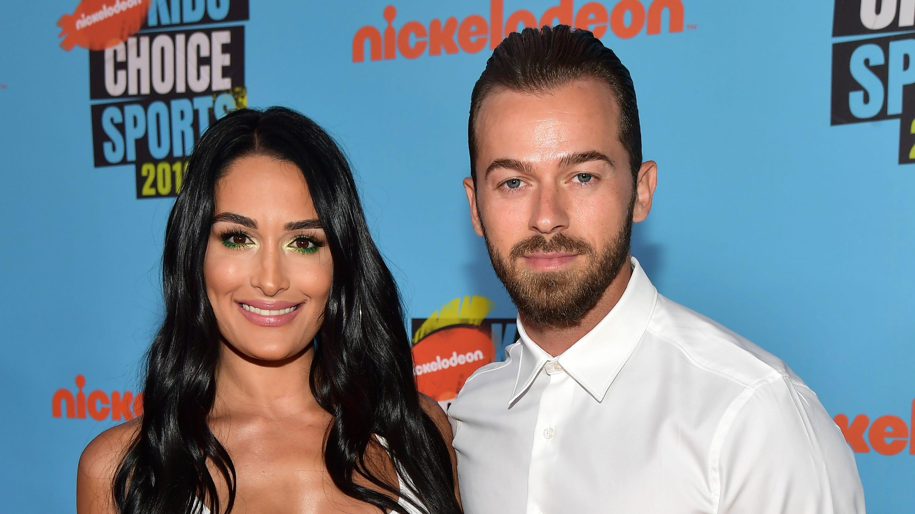 Nikki Bella reveals she's engaged to former 'DWTS' partner Artem Chigvintsev
