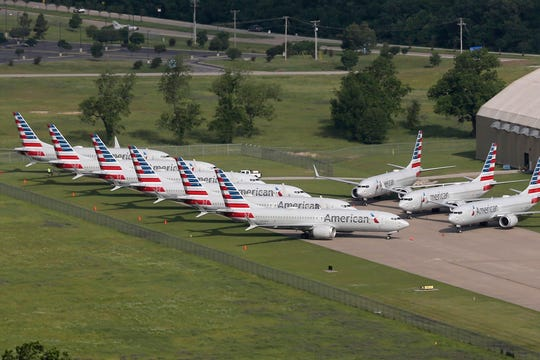 American's fleet of 24 737 Max aircraft has been parked since the FAA grounded the plane in March 2019.