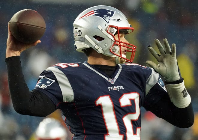 Tom Brady and the Patriots are in the unfamiliar position of playing during wild-card weekend.