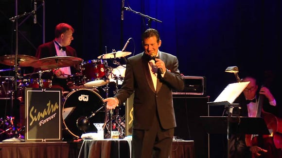 """Sinatra Forever,"" featuring Rick Michel, is on stage Jan. 15 at the Suquamish Clearwater Casino Resort."
