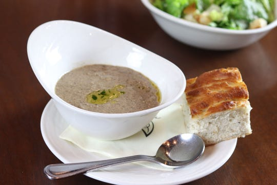 Kennett Square Mushroom Soup is from  Iron Hill Brewery.