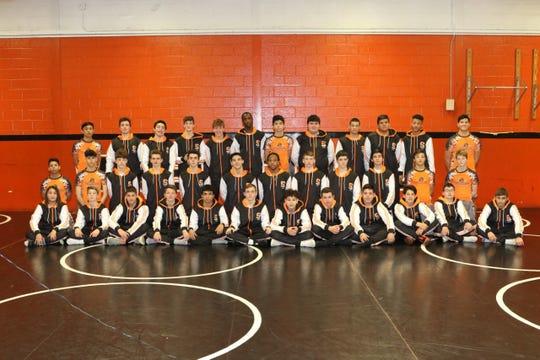 The 2019-2020 Somerville wrestling team