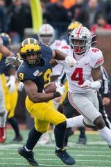 Michigan wide receiver Donovan Peoples-Jones announced Saturday he's entering the NFL Draft.