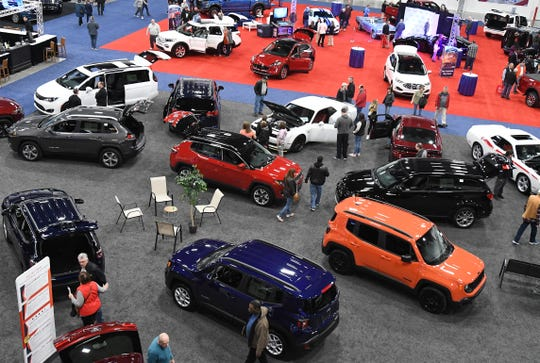 First annual Southeast Michigan Auto Show at Suburban Collection Showcase in Novi, Michigan on Jan. 4.