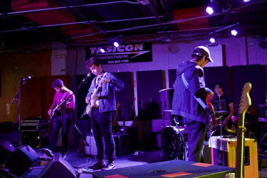 Local band Dorms playing at The Wilbury at an earlier performance this year.