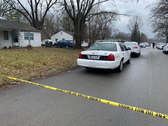 Police respond to a fatal shooting on the city's east side on Saturday, Jan. 4, 2020.