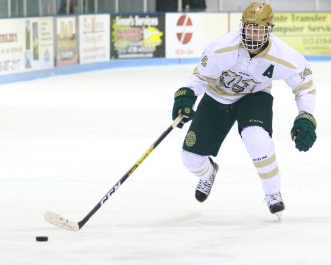 Stefan Frantti scored three third-period goals for Howell in a 6-4 victory over Livonia Franklin.