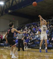 Ontario's Kolten Kurtz could send a charge through the MOAC if his Warriors can knock off Shelby on Saturday.