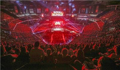 """WWE's """"Royal Rumble"""" pay-per-view event takes place Jan. 26"""