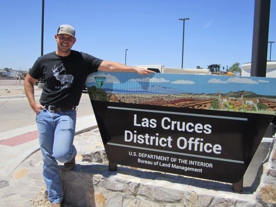 Carty Carson is one of the BLM Las Cruces District specialists ready to help the public. Located at 1800 Marquess St. in Las Cruces, the Public Room provides a variety of public land information, maps and service.