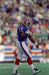 Bruce Smith came down with the flu and missed Buffalo's 1995 divisional round loss to the Steelers.